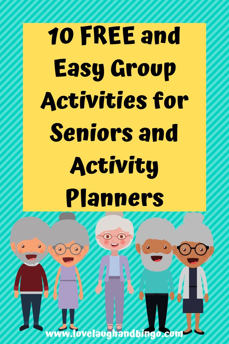 10 Easy And Free Group Activities For Seniors Senior