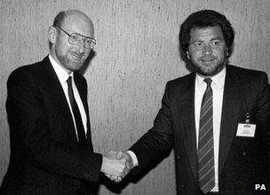 Lord Alan Sugar getting SInclair brand and  computer range from Sir Clive Sinclair