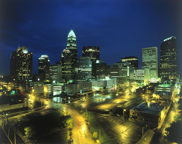 Charlotte, NC - Probably heading there soon.