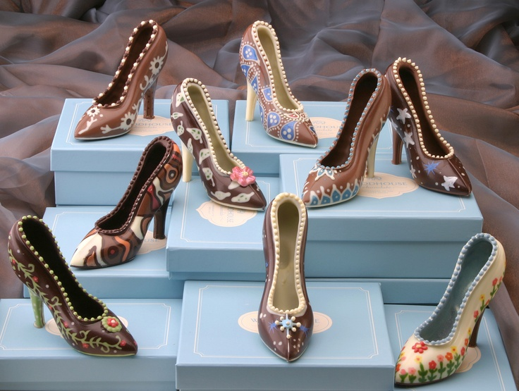 Good enough to eat, or wear... All chocolate couture shoes