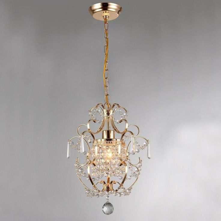 Zara Wrought Iron Chandelier - Gold #black-wrought-iron-light #black-zara #gold