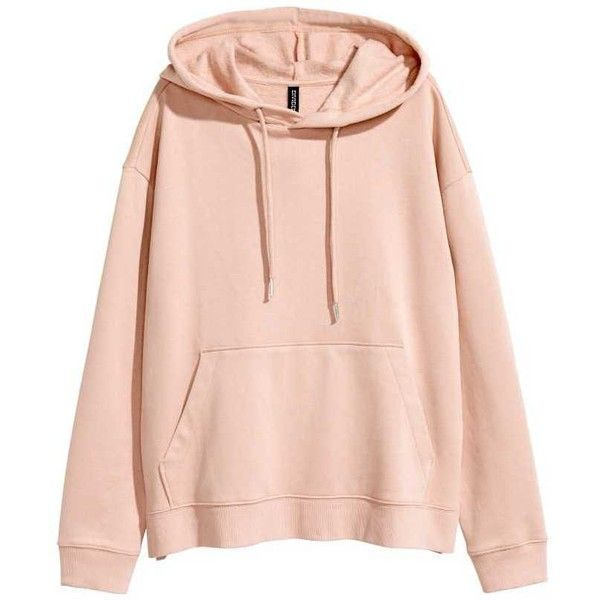 Huvtröjor Sweatshirts ❤ liked on Polyvore featuring tops, hoodies, sweatshirts, pink top and pink sweatshirts