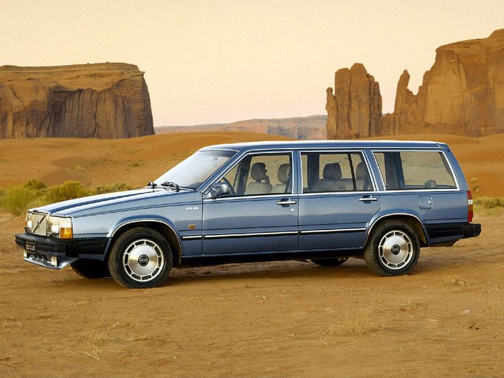 Volvo 740 wagon. Still my favorite car ever. My wife and I had one for 7 years almost. The most reliable car and the safest on the road.