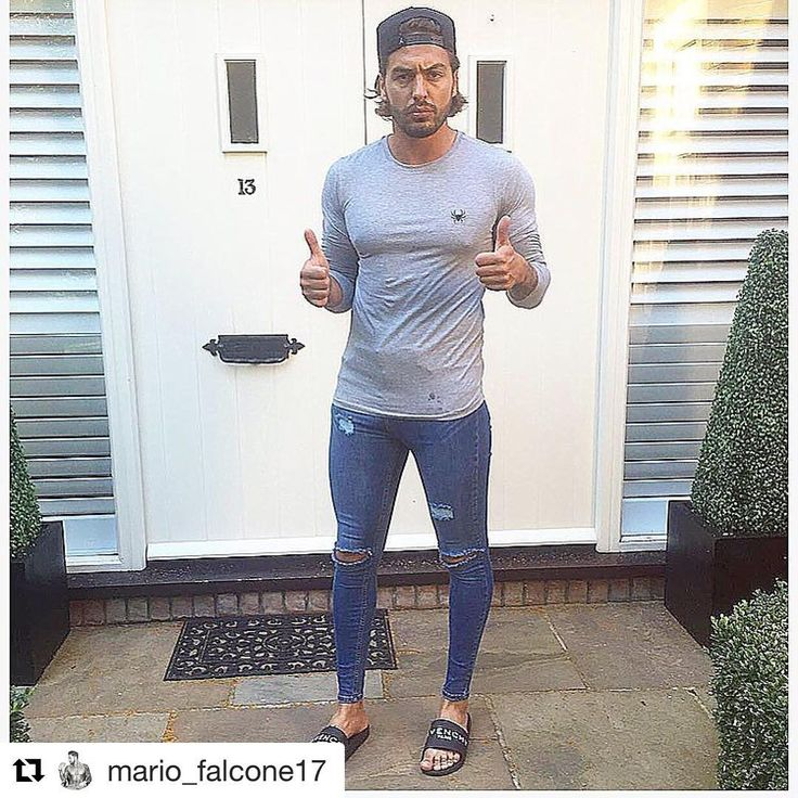 #Repost @mario_falcone17 ・・・ Combining my 2 favourite brands on this sunny evening... Tshirt from @intensemenswear  Jeans from @heralondon_ (preorder now)  #fashion #men #style