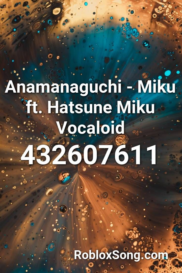Anamanaguchi Miku Ft Hatsune Miku Vocaloid Roblox Id Roblox Music Codes Roblox Shape Of You Remix Nightcore