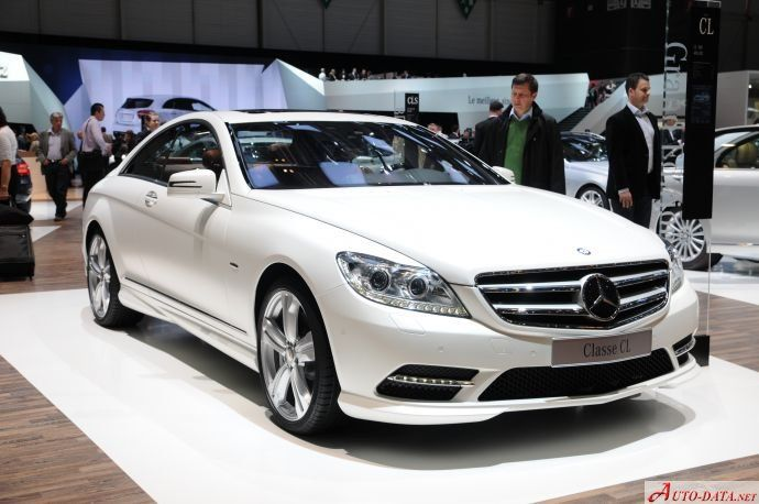 Mercedes-Benz CL (C216 Facelift 2010) was produced in the years between 201o and 2013. it is a stylish coupe with 2 doors and 4 seats. the engine is AMG CL 65 G-Tronic with 630 hp. max.speed is 250 km/h; acceleration from 0 to 100 km/h is 4.4 sec. the fuel tank is 83 l. engine`s model is M 275 E 60 AL. direct injection fuel system with front, longitudinal position of engine. has a twin turbo turbine & runs on petrol/gasoline. its rear wheel drive  with 5g-tronic automatic transmission.