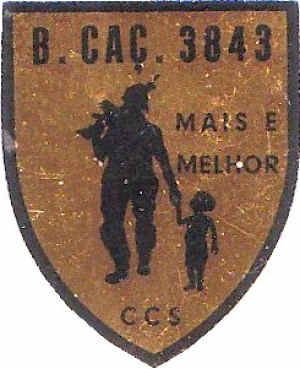 Companhia de Comando e Serviços do Batalhão de Caçadores 3843 Moçambique