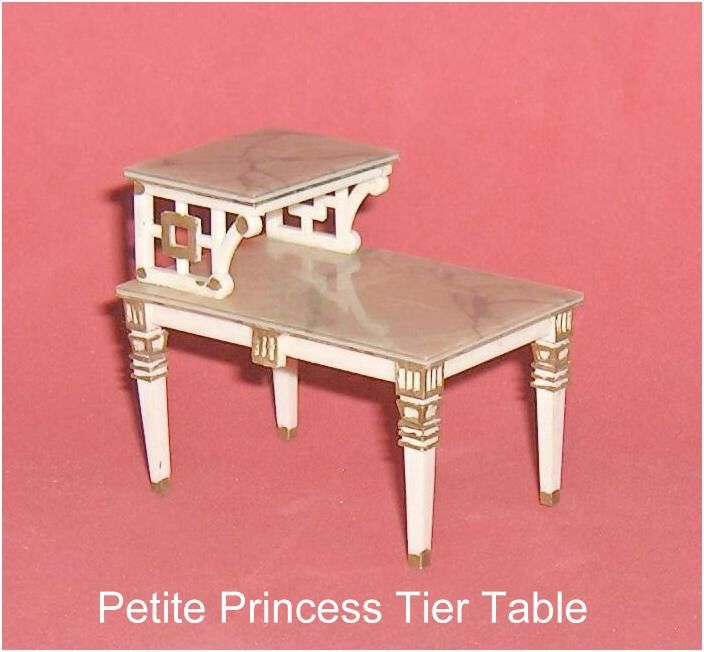 Vintage Dollhouse Furniture For Sale Part - 29: ON SALE Tier Table Ideal Petite Princess Vintage Hard Plastic Dollhouse  Furniture By EttasEmporium On Etsy