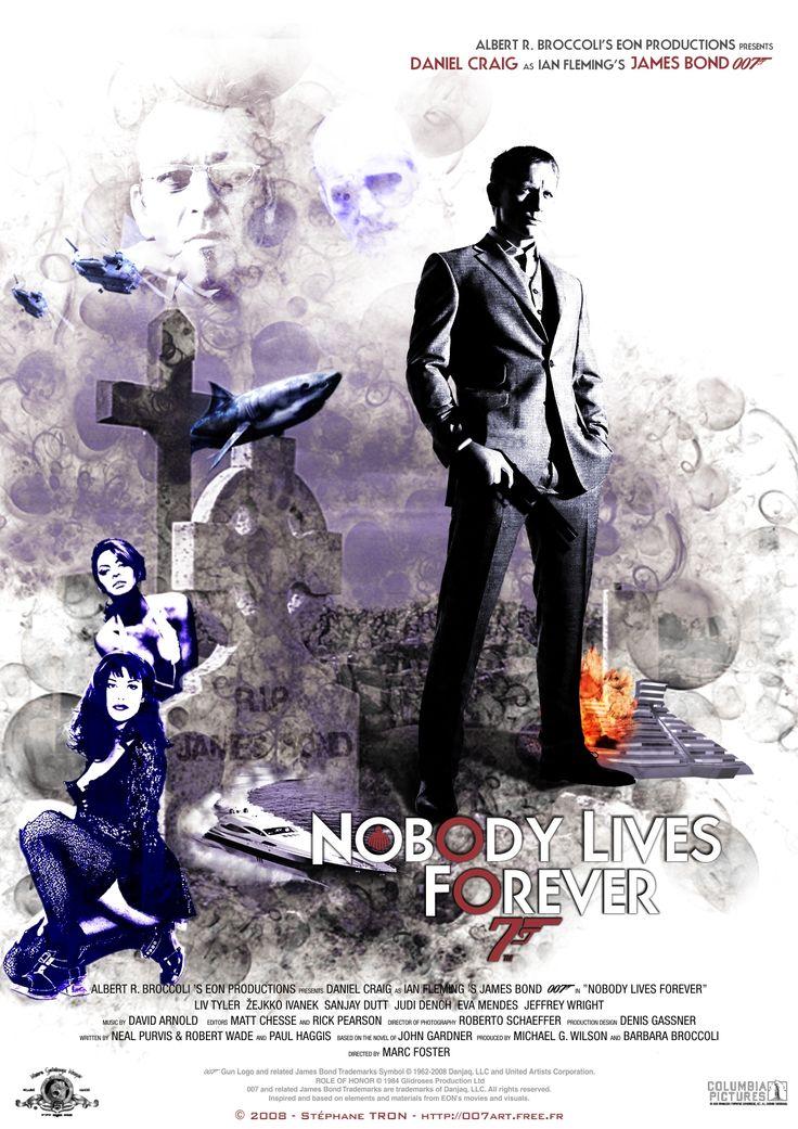 John Gardner - 'Nobody Lives Forever' - Poster 2