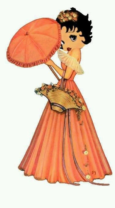 Betty Boop Southern Belle