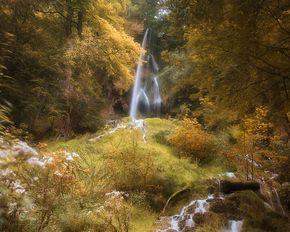 Alle Jahre wieder gibt es bei mir einen Ausflug auf die Schwäbische Alb nach Bad Urach zu de dem Uracher Wasserfall und dem Gütersteiner Wasserfall.