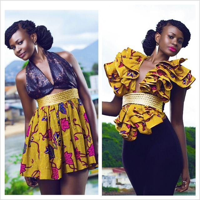 nigerian attire for women | ... african women beautiful dresses styles 2013 » African fashion Ankara