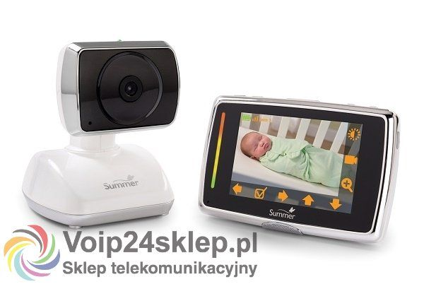 Elektroniczna niania Summer Video Baby Touch Edge #elektronicznaniania #wideoniania #summer #babymonitor