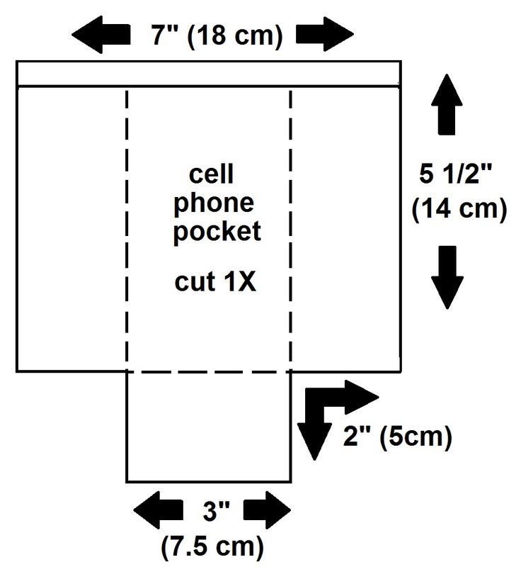 cell phone pocket