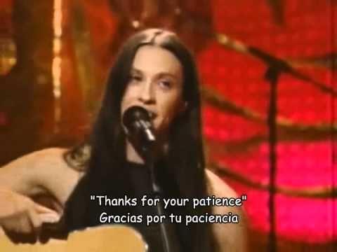 Alanis Morissette - Head over feet (unplugged) - YouTube