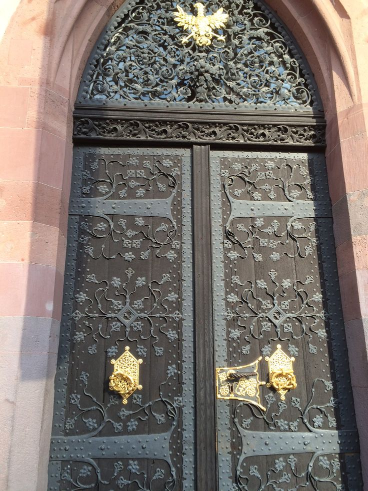 Door of the old town hall, Frankfurt