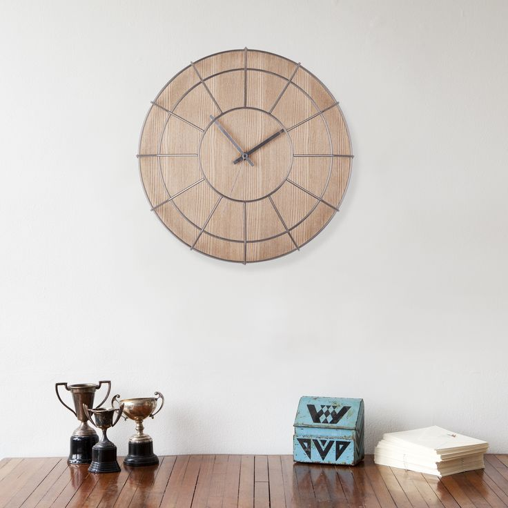 Cage wall clock time in three dimensions umbra design by alan wisniewski