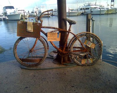 tips on removing rust from your bike or beach cruiser about beachbikes pinterest remove rust. Black Bedroom Furniture Sets. Home Design Ideas