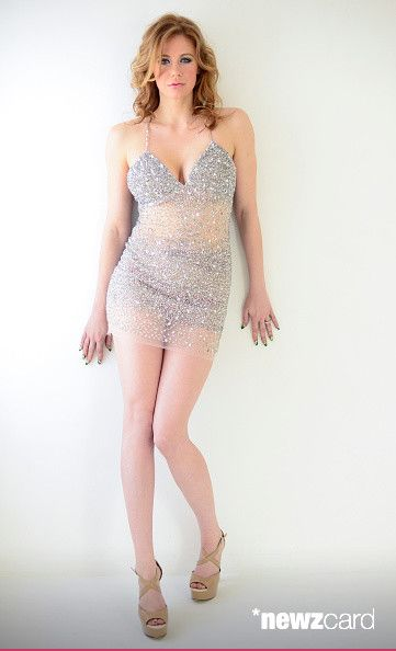 Actress Maitland Ward wearing Sovage poses for portrait at Sovage Hosts 'The Starving Artists Project' Portraits on December 30, 2014 in Los Angeles, California.  (Photo by Michael Bezjian/WireImage)