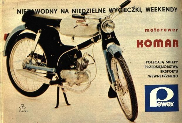Reklama Romet Komar
