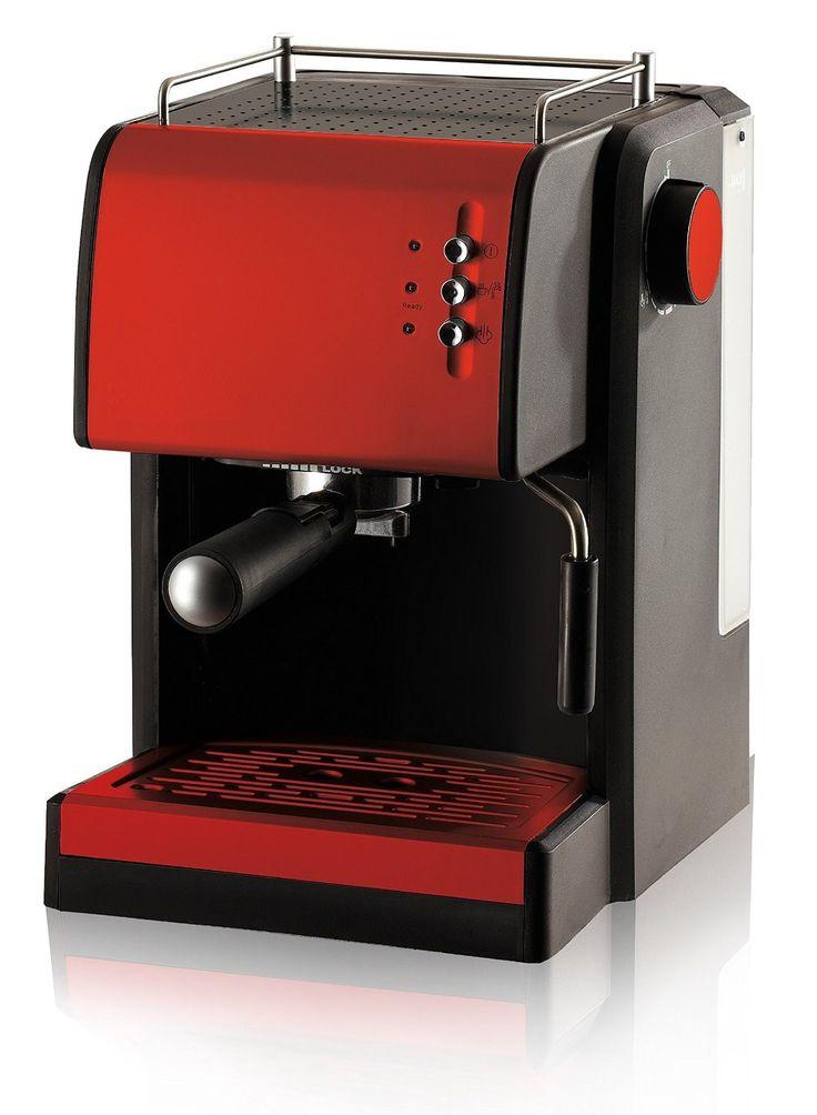 Espresso Maschine Siebträger integrierter Milchaufschäumer Espresso-Siebträgermaschine 15 bar Hochleistungspumpe Latte Cappuccino Maschine