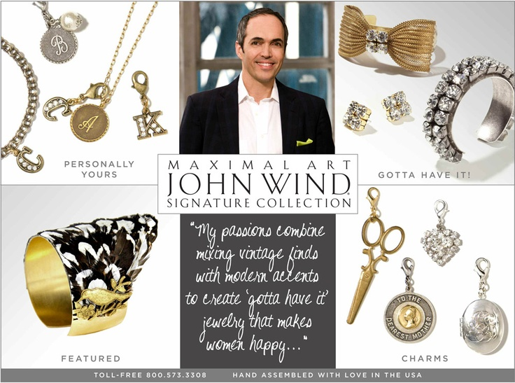 John Wind Charm Jewelry is here!  Bracelets, Necklaces and Charms.  Fabulous Affairs in Normal, IL