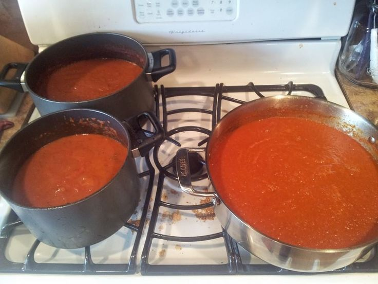 Canning Roasted Tomato Sauce with #Epicure Little Italy seasoning