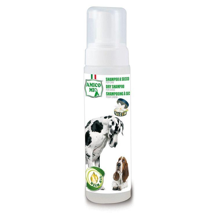 MA-FRA Shampoo a secco per cani grandi piccoli 250ml pulizia senza acqua LAM011