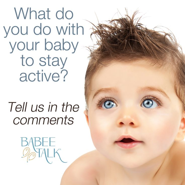 What ways do you stay active with baby? #active #baby #healthylife