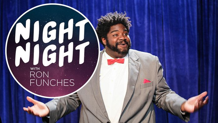 Comedian Ron Funches gets weird with special guest Taboo (Black Eyed Peas) on his five-minute late-night talk show. (VIDEO)