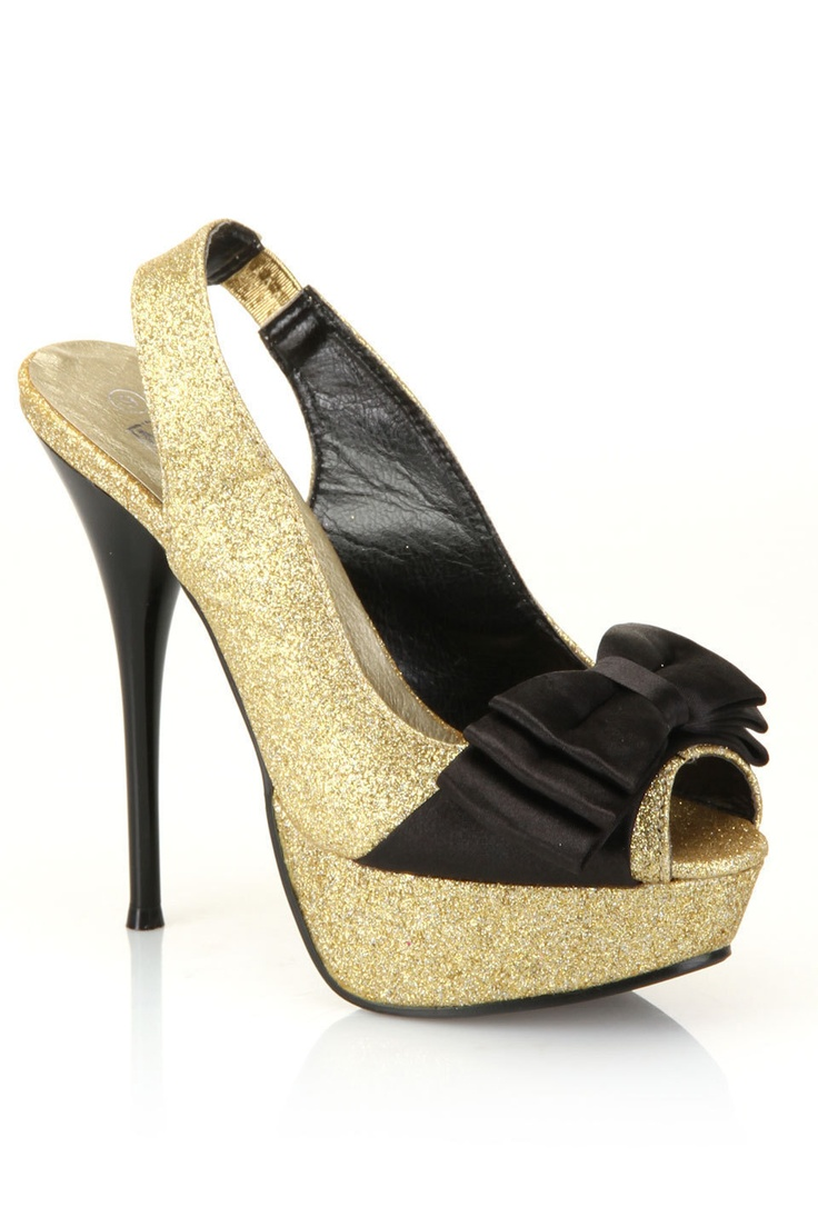 gold pumps!