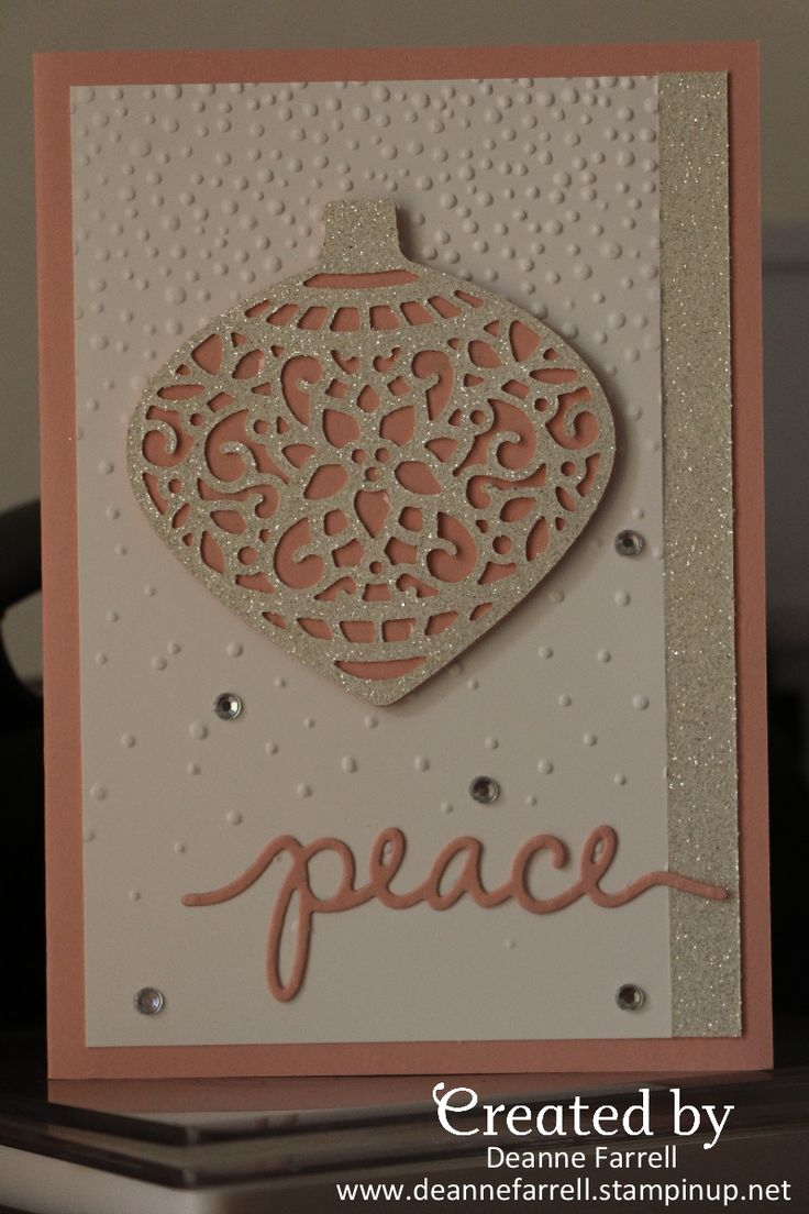 Stampin' Up! Christmas Ornaments
