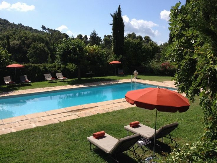 Domaine de la Baume pool, luxury hotel, Provence, France, boutique hotel, Verdon, From the Poolside blog on boutique hotels and stylish rent...