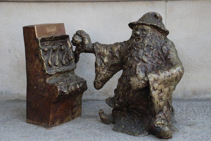A gambler in Wroclaw
