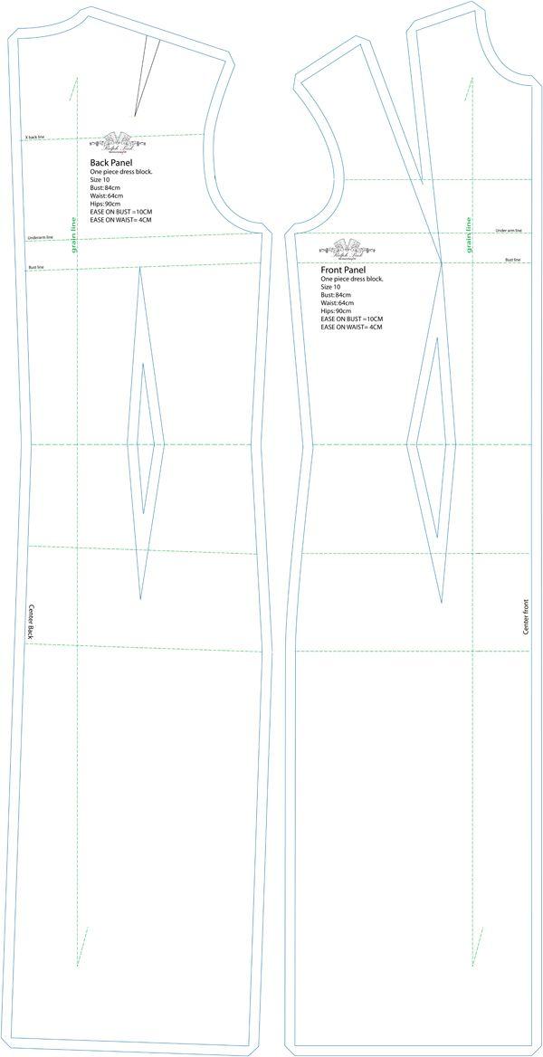 Basic One-Piece Dress Sloper