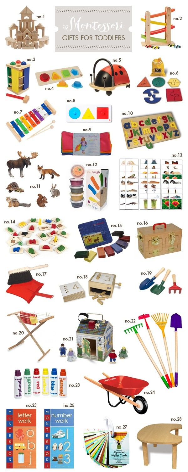 Montessori gifts for toddlers