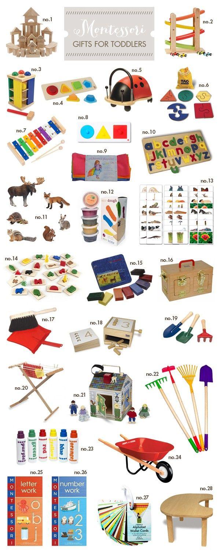 Montessori Gift Ideas – Toddler | Hellobee