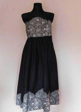 Kup mój przedmiot na #vintedpl http://www.vinted.pl/damska-odziez/krotkie-sukienki/17686739-miss-selfrige-sukienka-midi-gorsetowa-czarna-36-38