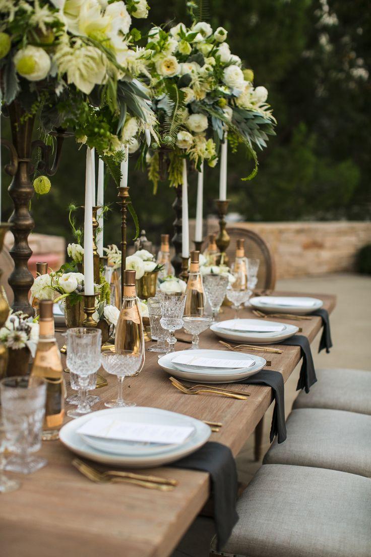 Romantic Tuscan Wedding Inspiration / Style Me Pretty / Signature Leather Invitation / Letterpress Invitation / Snake Print / Neutral Palette / Bliss & Bone / Esoteric Events / Samuel Lippke Photography