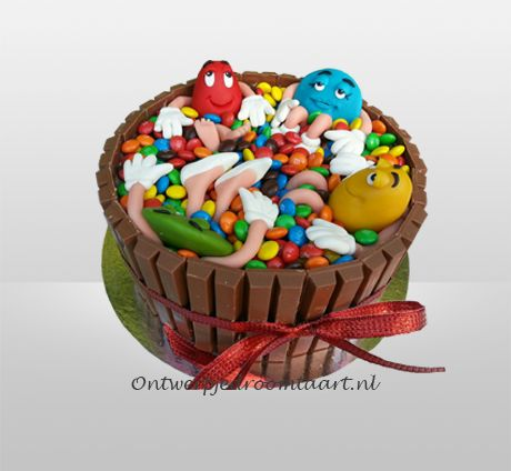 M&M's taart