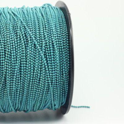 Ball chain blue.