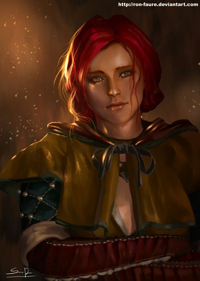 Triss Merigold by Ron-faure on DeviantArt