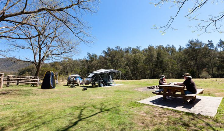 Deua National Park. Bendethera Valley Campground.