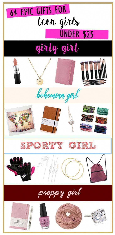 64 gifts for teen girls under $25! #teenagegirlgifts | Teenage Stuff ...