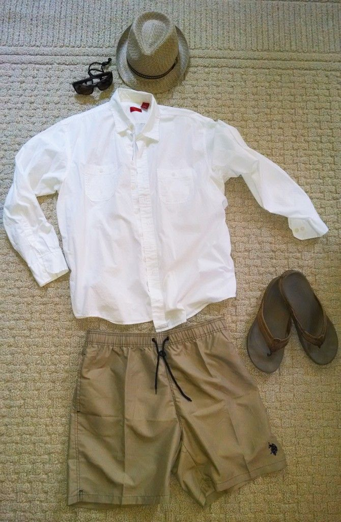 Suggestions for what men should wear on vacation in Hawaii [with ...