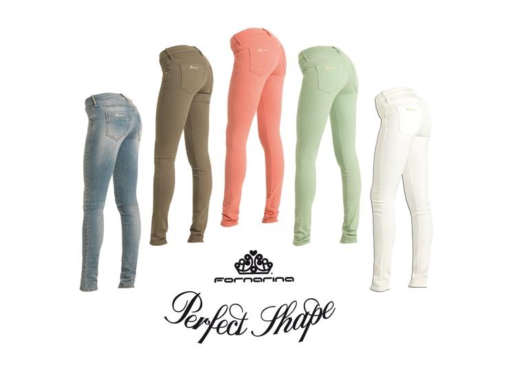 #Fornarina #PerfectShape #Pastel #colors #spring #summer #pants #feminine #fit