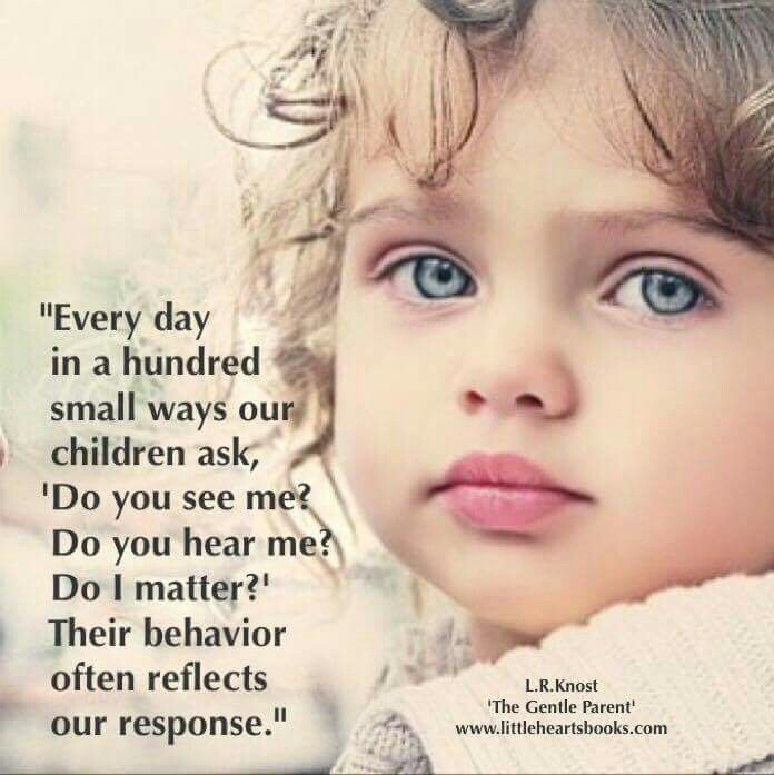 The beauty of a child's mind.