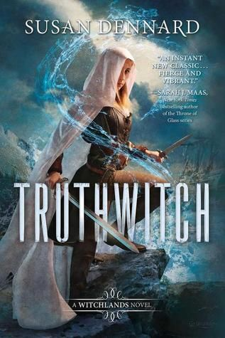 SO obsessed with this book/cover! Fans of Throne of Glass will *love* it! [Truthwitch by Susan Dennard--out January 2016]