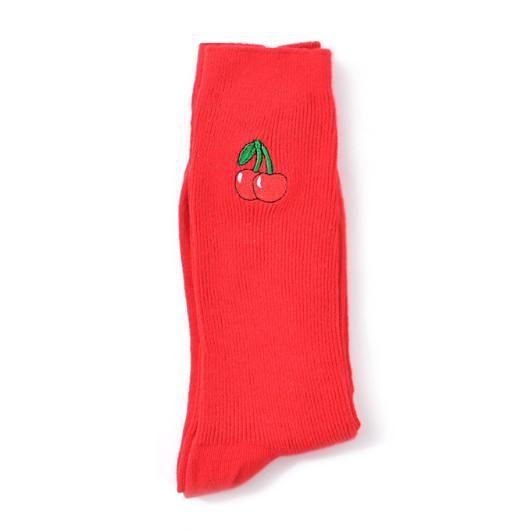 Merry Cherry Socks