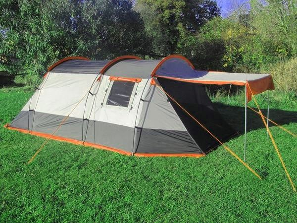 This lightweight compact tent is perfect for either couples or small families. The tent can be erected quickly in under 15 minutes and has 3 fibreglass poles and 2 steel poles for the canopy.The tent has two doors which both have fly screens so you can have ventilations without opening the doors fully. The tent comes comlete with two canopy poles meaning you can open up either door into a shaded area, perfect for the summer or at festivals.The tent has a 5000HH polyester outer and a…